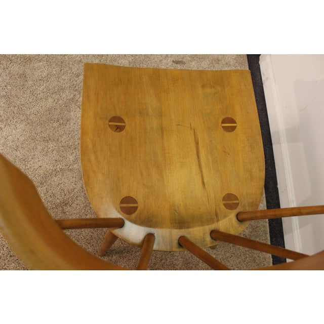 Mid-Century Danish Modern Paul McCobb Spindle Back Side Dining Chairs - a Pair For Sale - Image 5 of 11