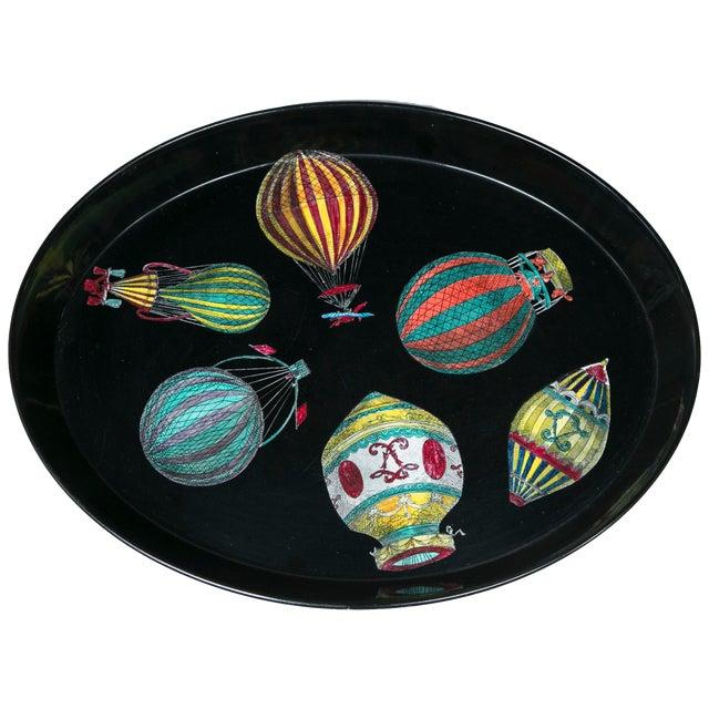 Piero Fornasetti Hot Air Balloon Tray For Sale