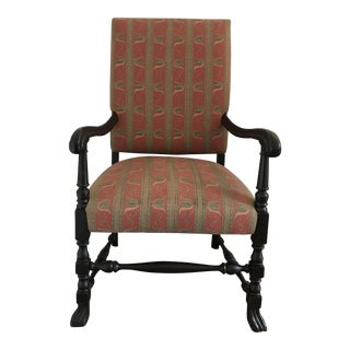 19th Century Jacobean Armchair For Sale