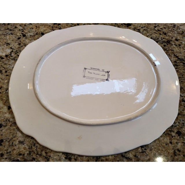 Italian Trompe L´oile Scalloped Serving Platter For Sale - Image 12 of 13
