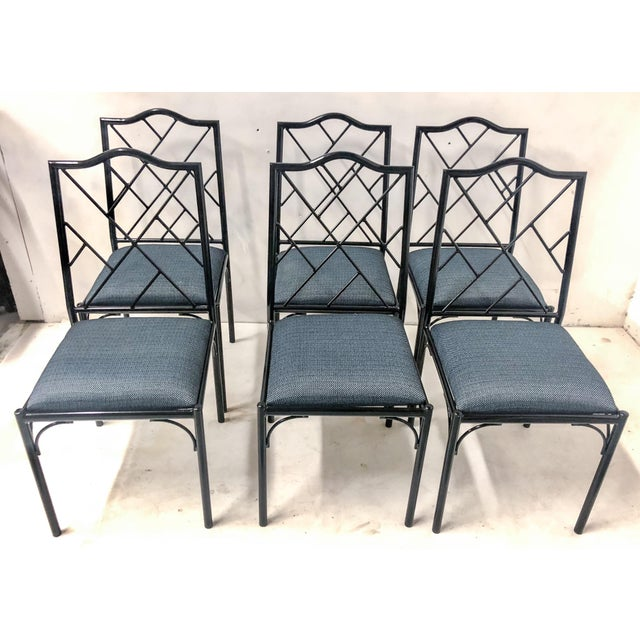Chippendale Style Dining Chairs, Set of Six For Sale - Image 9 of 12