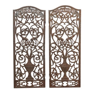Italian Metal Church Panels For Sale