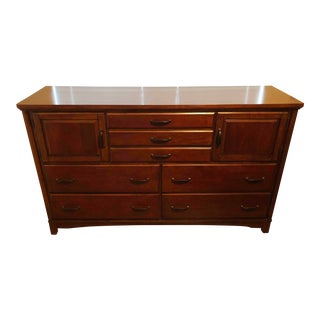 Mint Condition Wood Gentleman's Dresser Chest For Sale