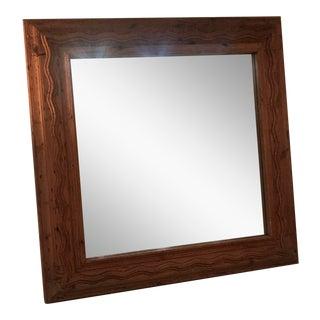 Artisan Wooden Framed Mirror