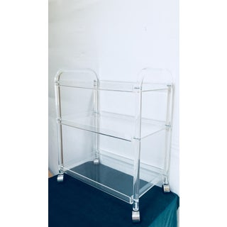 Lucite Bar Cart from the Keely Smith Estate in Palm Springs Preview