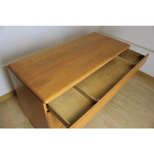 Heywood-Wakefield Kneehole Desk & Chair - Image 9 of 9