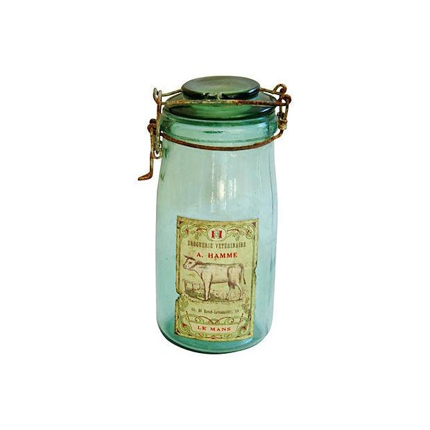 Early 1900s French Preserve Canning Jars - A Pair - Image 5 of 5