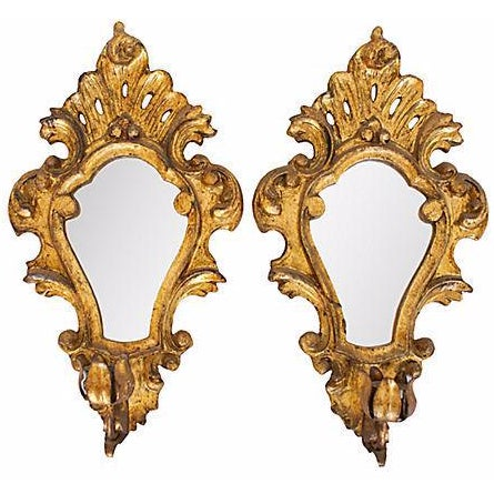 19th Century Gilt Wood Sconces - A Pair - Image 1 of 5