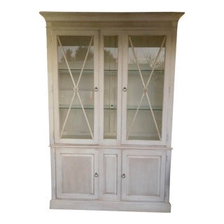 Swedish Ethan Allen China/Display Cabinet For Sale