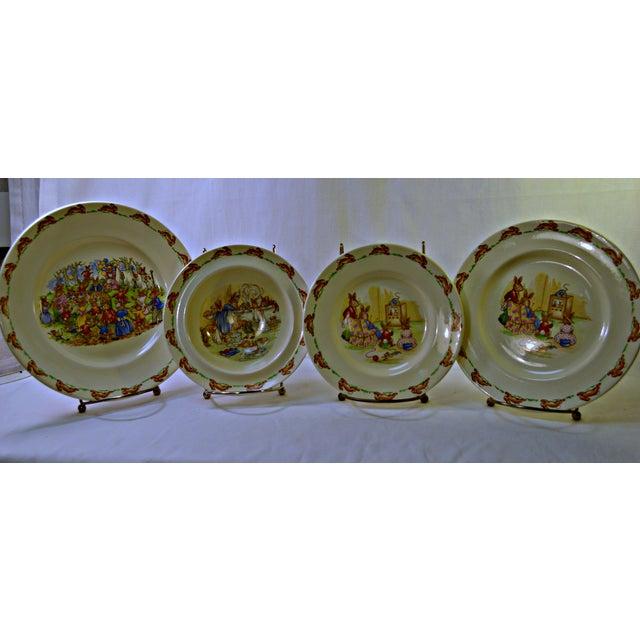 Royal Doulton Vintage Kids Dinner Set For Sale - Image 4 of 10