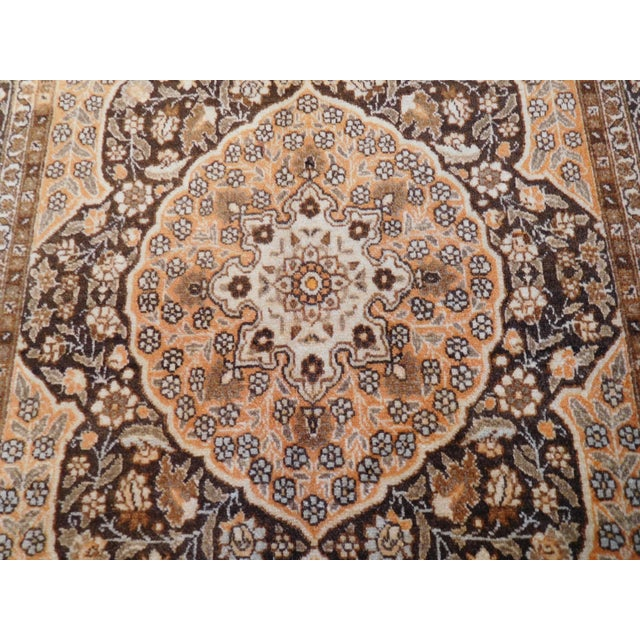 """Islamic Antique Persian Tabriz Rug - 4' x 5'4"""" For Sale - Image 3 of 6"""