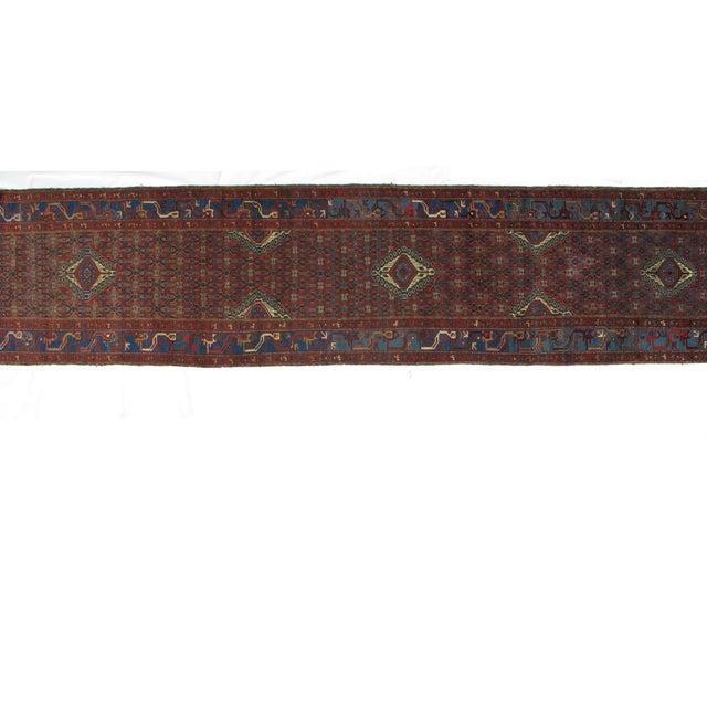 "Islamic Leon Banilivi Antique Malayer - 3'3"" X 16'10"" For Sale - Image 3 of 6"