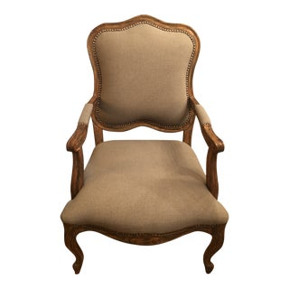 Uttermost Occasional Arm Chair For Sale