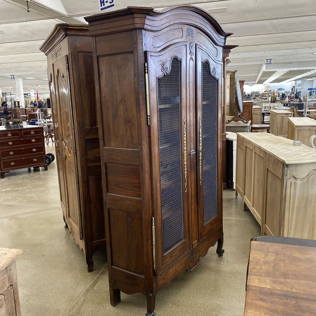 Wood Early 19th. Century French Louis XV Wine Cabinet For Sale - Image 7 of 13