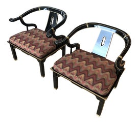 Image of Asian Antique Corner Chairs