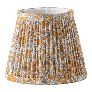 "Raj Batik 14"" Lamp Shade, Camel For Sale"