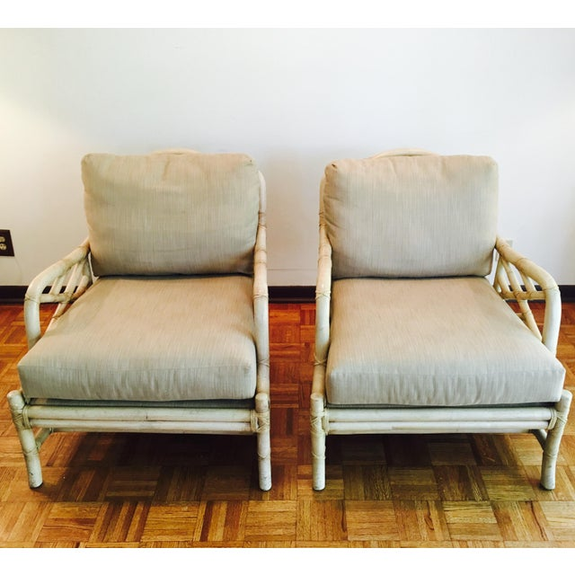 Ficks Reed Lounge Chairs - A Pair - Image 2 of 8