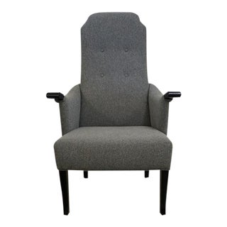 Dana John Chair Seven With Black Stained Oak - a Pair