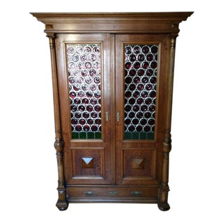 20th Century Black Forest German Cabinet For Sale