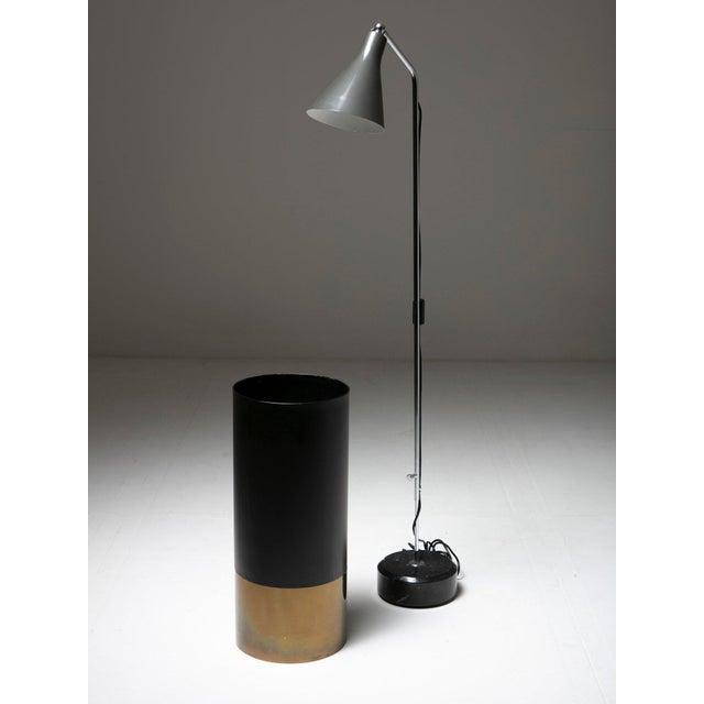 """Mid-Century Modern """"Cartuccia"""" Umbrella Stand by Luigi Caccia Dominioni for Azucena For Sale - Image 3 of 4"""