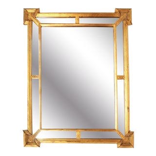 Carver's Guild Neoclassical Mirror For Sale