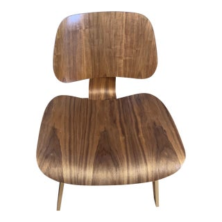 "Vintage Charles & Ray Eames ""Lcw"" Lounge Chair For Sale"