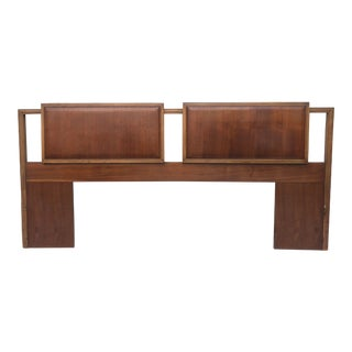 Mid-Century Modern Kingsize Headboard For Sale