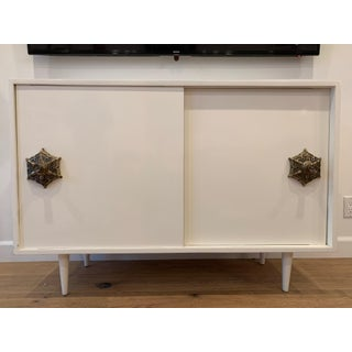 1950s Mid Century Modern Credenza With Detailed Pulls Preview