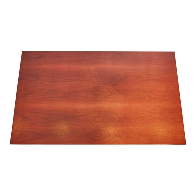 1960s Milo Baughman for Directional Walnut and Lucite Coffee Table, Circa 1960 For Sale - Image 5 of 7