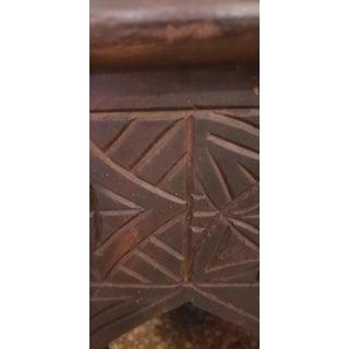 Moroccan Handmade Cedar Wooden King Chair Preview