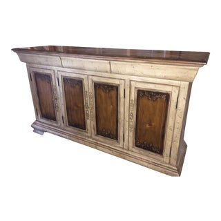 Traditional 2-Toned Credenza For Sale