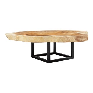 Asher Coffee Table, Natural Chamcha For Sale
