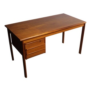 Peter Løvig Nielsen Teak Slide Top Desk