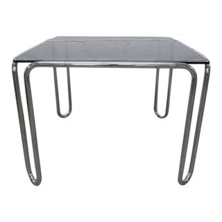 Marcel Breuer Tubular-Steel B10 Table For Sale