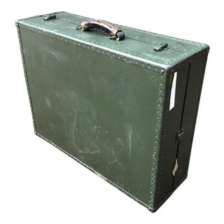 Vintage 1940's Military Trunk