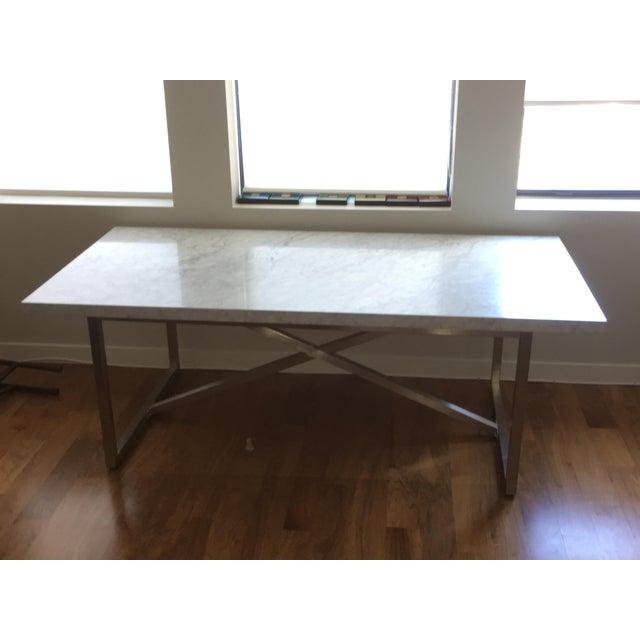 Restoration Hardware Torano Marble Dining Table Chairish