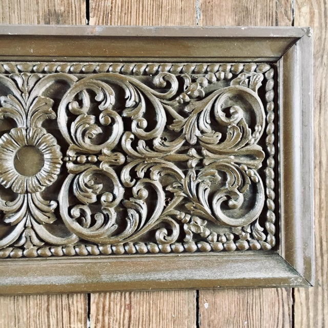Carved Oak Architectural Frieze is most likely from a fireplace mantel.