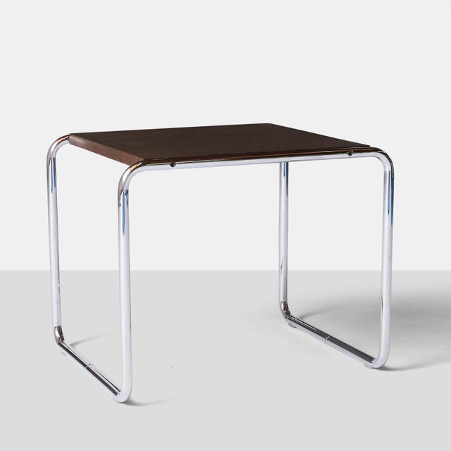 Knoll Laccio Tables by Marcel Breuer - A Pair For Sale - Image 4 of 8