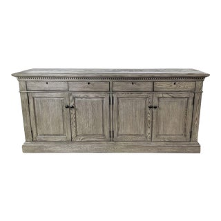 Restoration Hardware St. James Panel Sideboard With Drawers For Sale