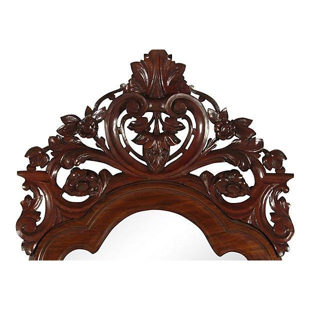 British Colonial 19th-C. Colonial Pier Mirror For Sale - Image 3 of 5
