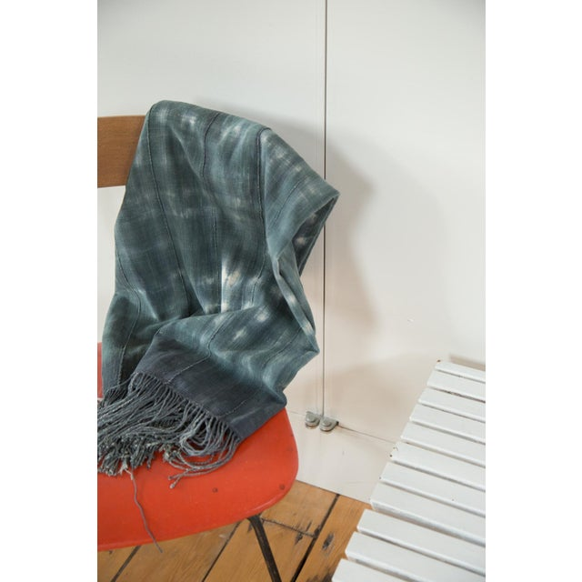 """Vintage African Textile Throw - 3'3"""" X 5'6"""" - Image 6 of 6"""
