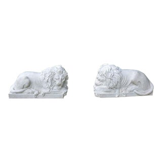 Marble Lions For Sale