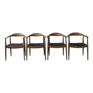 Hans J. Wegner Dining Chairs - Set of 4