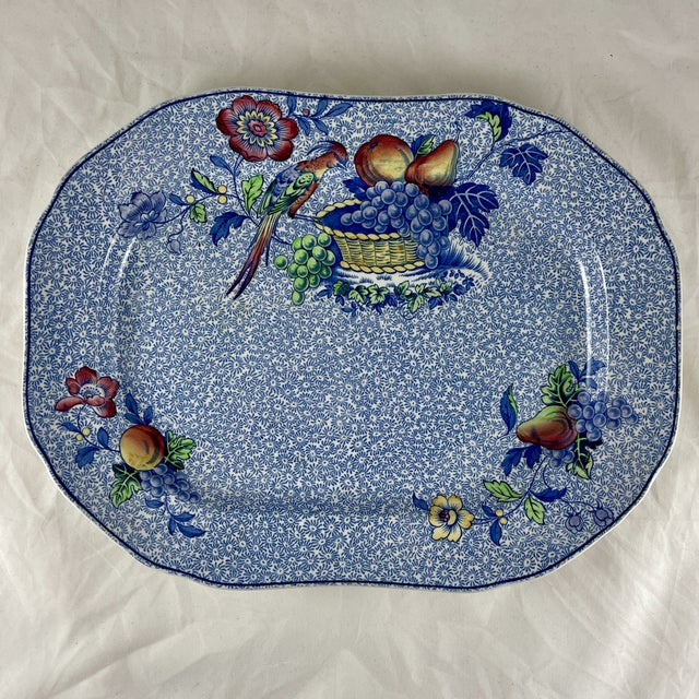 1920s Copeland Spode George III Pattern Platter for Harrods of London For Sale - Image 13 of 13