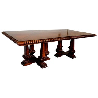 French Provincial Palatial Ralph Lauren Marseillies Dining Table For Sale