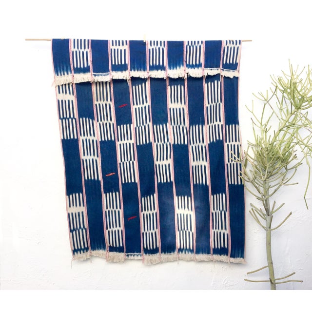 Vintage African Baule Cloth Throw - Image 3 of 6