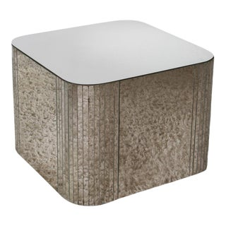 Modern Mirrored Coffee Table For Sale