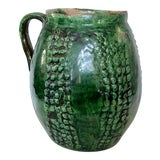 Image of French Majolica Jug For Sale