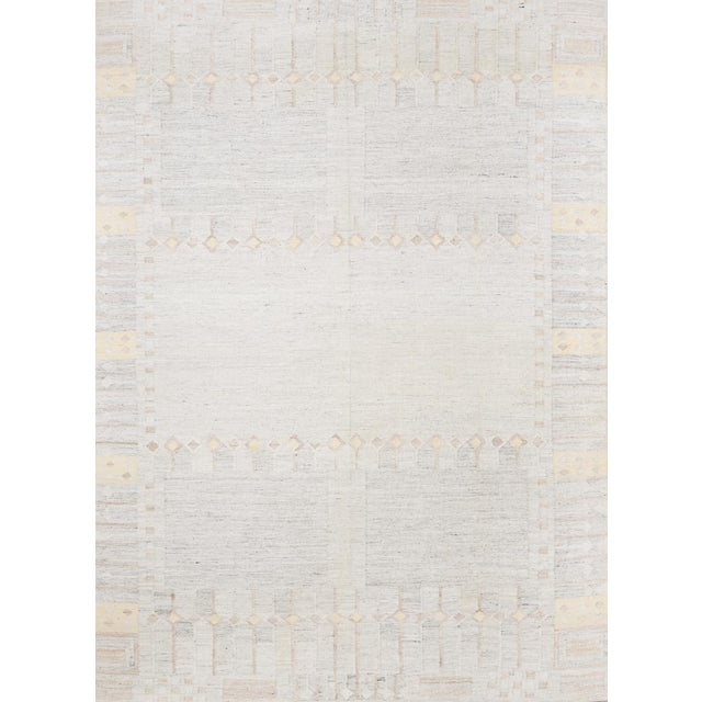 Gray Schumacher Marstrand Hand-Woven Area Rug, Patterson Flynn Martin For Sale - Image 8 of 8