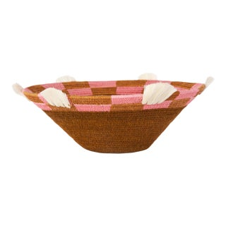 Scotch Large Sisal Basket Tobacco For Sale